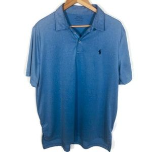 Polo Ralph Lauren Blue Performance Polo size large